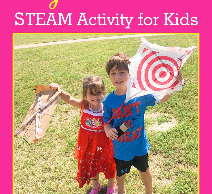 Make a Kite using Recycled Materials   STEAM Activity for Kids