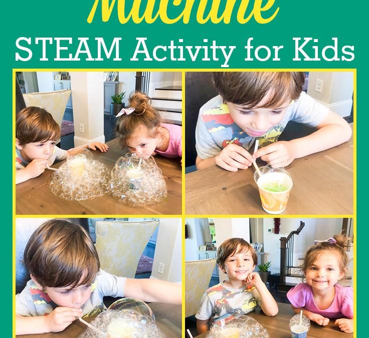 Make a Bubble Machine | STEAM Activity for Kids