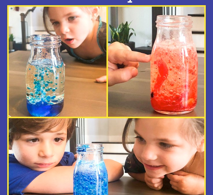 Make a Lava Lamp | STEAM Activity for Kids