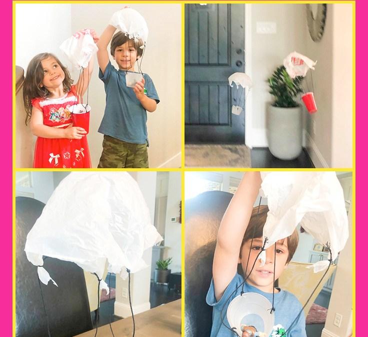 Make a Parachute | STEAM Activity for Kids