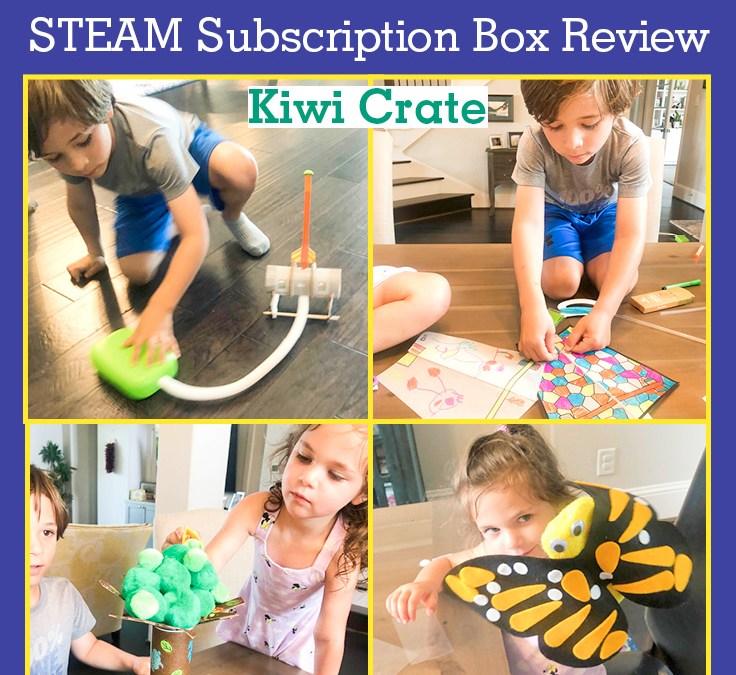 KiwiCo Kiwi Crate and Koala Crate | STEAM Subscription Box Review