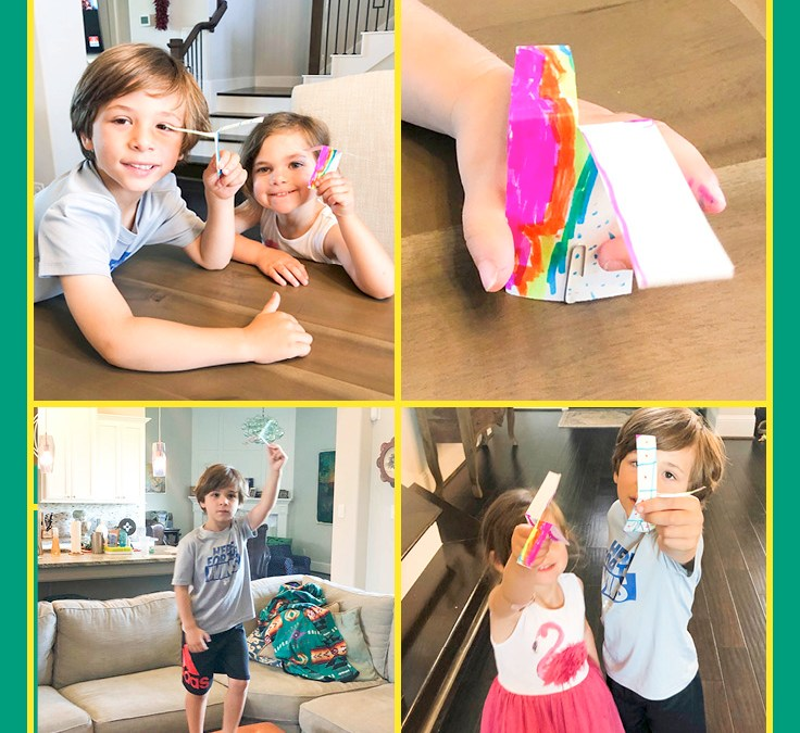 Make a Paper Helicopter | STEAM Activity for Kids