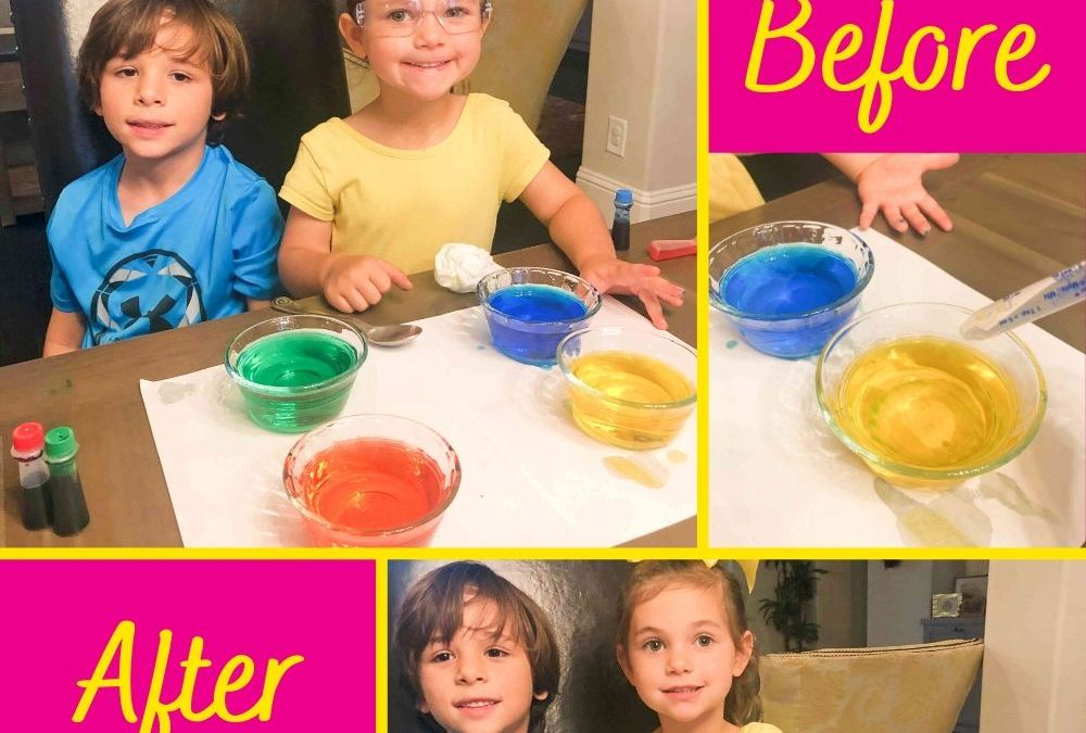 Disappearing Colors | STEAM Activity for Kids