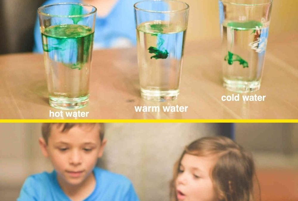 Observe Water Molecules in Action | STEAM Activity for Kids