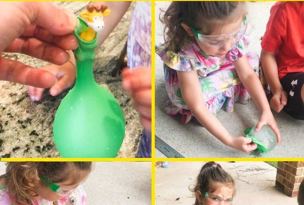 Rescue an Animal from an Ice Balloon | STEAM Activity for Kids