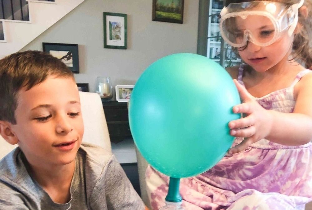 Inflate a Balloon with a Chemical Reaction | STEAM Activity for Kids