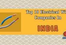 Top 10 Electrical Wire Companies In India