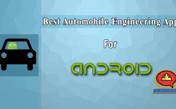 Top Best Automobile Engineering Apps For Engineers