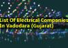 Top List Of Electrical Companies In Vadodara (Gujarat)