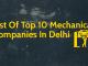List Of Top 10 Mechanical Companies In Delhi