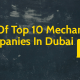 List Of Top 10 Mechanical Companies In Dubai