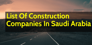 List Of Construction Companies In Saudi Arabia