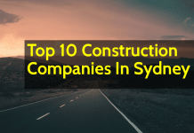 List of Top 10 Construction Companies In Sydney (Australia)