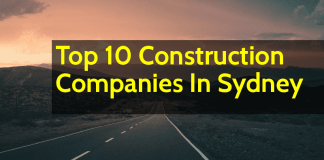 List of Top 10 Construction Companies In Sydney (Australia)