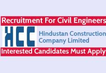 Simplex Infrastructures Ltd Recruitment For Civil Engineers