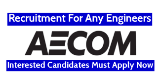 AECOM India Pvt Ltd Recruitment For Any Engineers Interested Candidates Must Apply Now