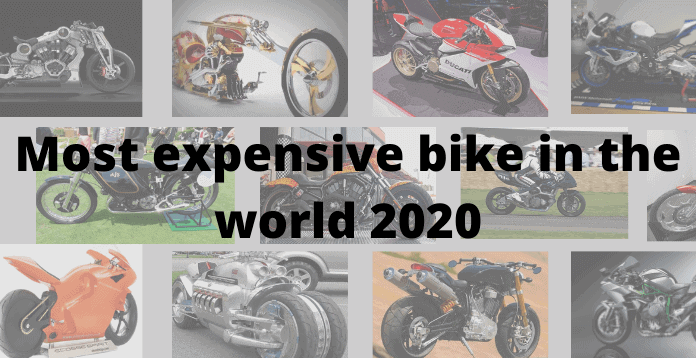 most expensive bike in the world 2020