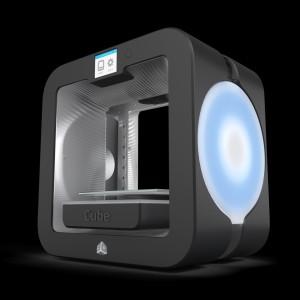 Der neue Cube 3 von 3D Systems verbindet moderne Technologie mit gutem Design (Bild: 3D Systems)