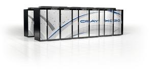 Zwei solcher Supercomputer Cray XC30 werden beim DWD in Betrieb genommen (Bild: Cray).