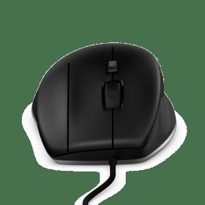 In der Vorderansicht zeigt sich die asymmetrische Form der Maus (Bild: 3DConnexion) Kopiert von www.EngineeringSpot.de, Seite: