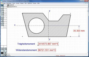 GrafiCalc stellt 88 Berechnungsfunktionen zur Verfügung (Bild Datacad).
