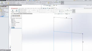 """Die neue Oberfläche ist im direkten Vergleich zwischen SolidWorks 2016 und 2015 wesentlich """"unbunter""""."""