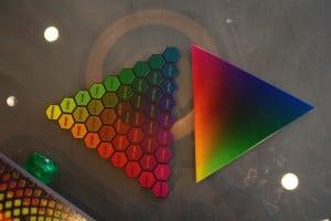Massiv verbessert haben die Partner die Farbfähigkeiten der Connex3 (links bisher, rechts heute).