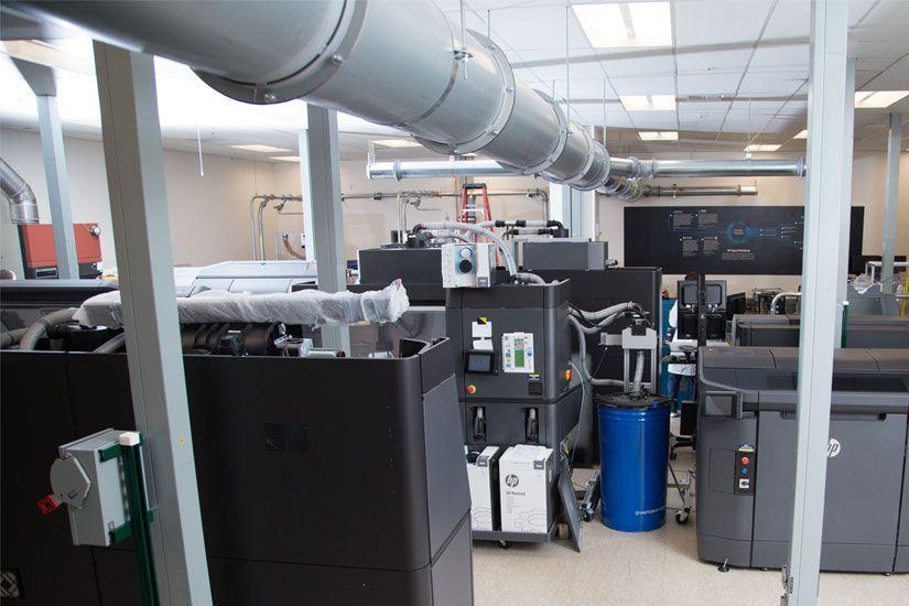 Im neuen HP-Labor können Materialien für das Jet Fusion-Verfahren getestet werden (Alle Bilder: HP).