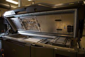 Im HP 3D Open Materials and Applications Lab stehen Drucksysteme für den Praxistest bereit.