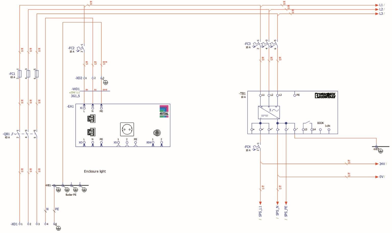 Ziemlich Einfache Schaltpläne 480v Ideen - Der Schaltplan - triangre ...