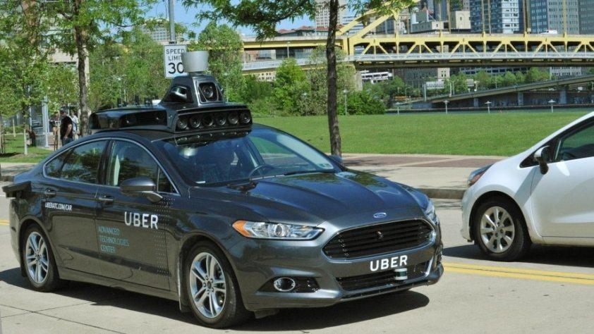 Uber autonomes Auto