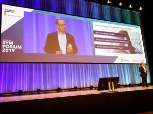 Peter Schroer von Aras auf dem Prostep ivip Symposium