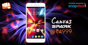 Micromax Canvas Spark Q380 Snapdeal