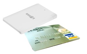 Credit Card Power Bank white