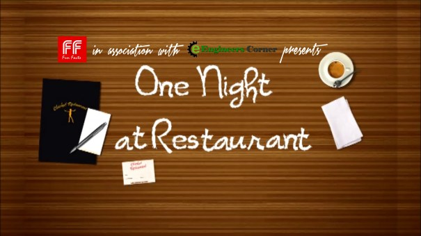 One Night at restaurant