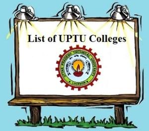List of Engineering & Management Colleges of UPTU