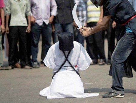 Saudi beheading executioners
