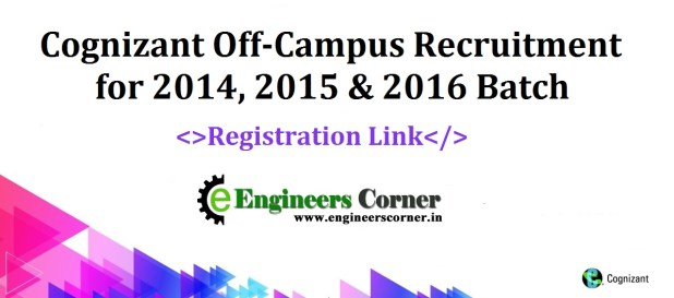 Cognizant Off-Campus AMCAT link 2016