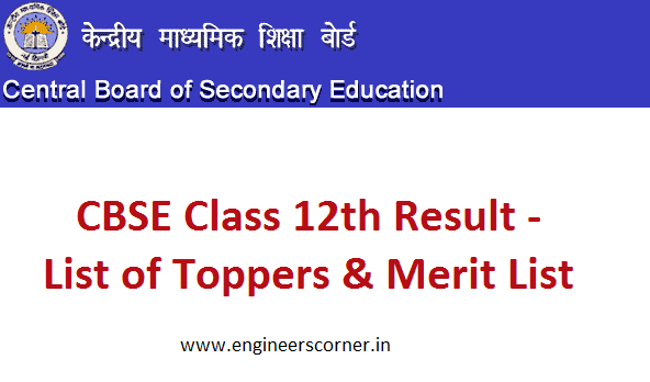 CBSE Toppers List 2016