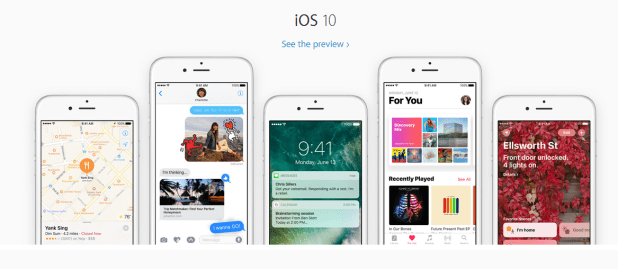 apple wwdc 2016 ios 10