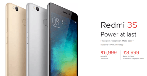 Redmi 3S Prime Launched in India
