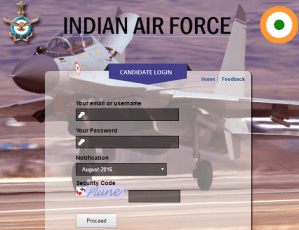 AFCAT Result 2016-17 - Indian Air Force