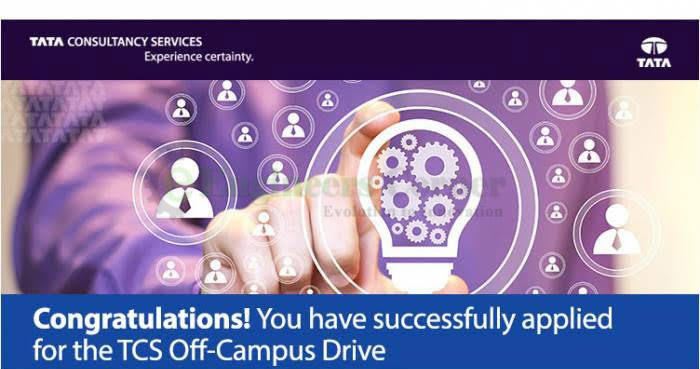 TCS Off-Campus Recruitment Registration 2019-20 Begins for Freshers