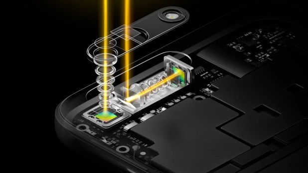 World's first periscope-style dual camera technology - OPPO