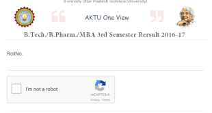 AKTU 3rd Sem Result