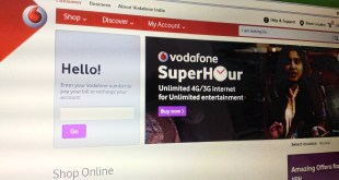 Vodafone Unlimited 4G Internet Offer