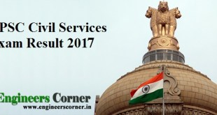 UPSC Civil Services Exam Result 2017