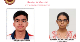 JEE Advanced 2017 Toppers List