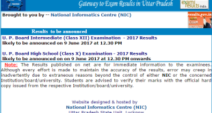 UP Results 2017
