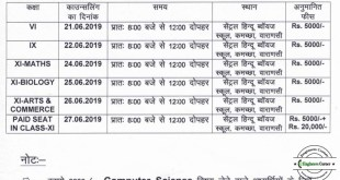 BHU SET 2019 CHS School Counselling Dates and Procedure